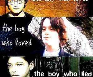 harry potter, tom riddle, and severus snape image