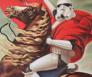 background, storm trooper, and star wars image
