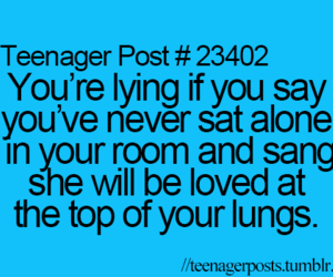 maroon 5, she will be loved, and teenager post image