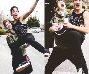 nash grier, magcon, and cash image