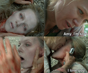amy, zombie, and laurie holden image
