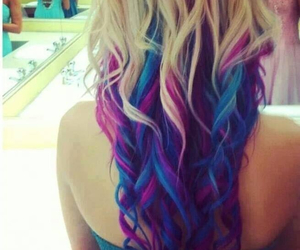 coloured hair and lov it. image