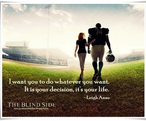 life, movie, and blind side image