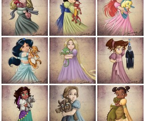 disney, lovely, and princess image