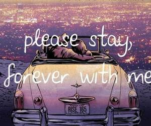 car, couple, and sleeping with sirens image