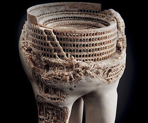 tooth, art, and funny image