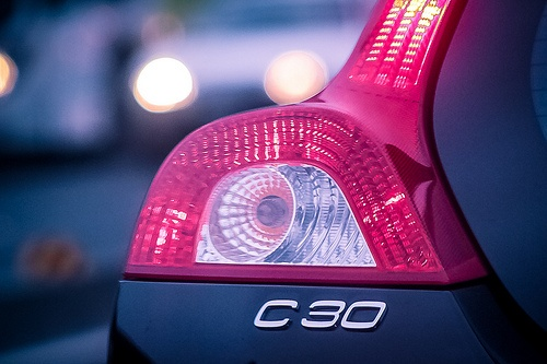 volvo, c30, and tail lamp image