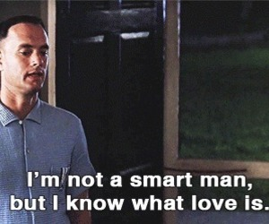 love, forrest gump, and movie image