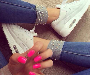 fashion, pink, and nike airmax image