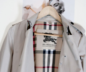 Burberry, clothes, and glamour image