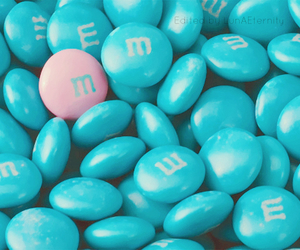 blue, pink, and candy image