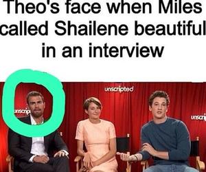 Shailene Woodley, theo james, and sheo image