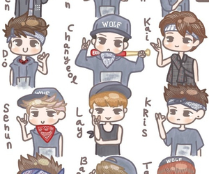 exo-k exo-m fan art image