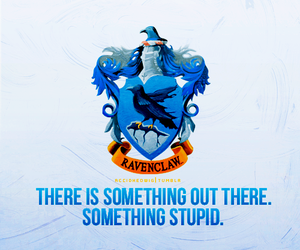 blue, ravenclaw, and harry potter image