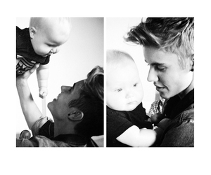 justin bieber, boy, and baby image