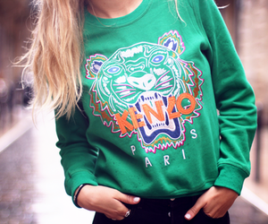 fashion, green, and Kenzo image