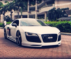 audi, r8, and cars image