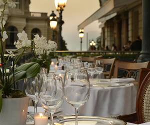 restaurant, luxury, and travel image