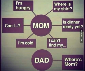 mom, dad, and true image
