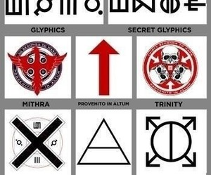 30 seconds to mars, jared leto, and symbol image