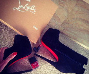fashion, high heels, and red image