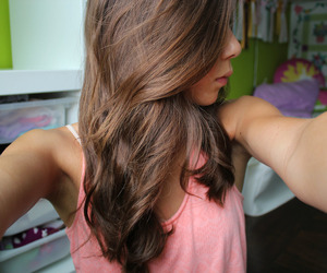 brunette, quality, and tumblr image