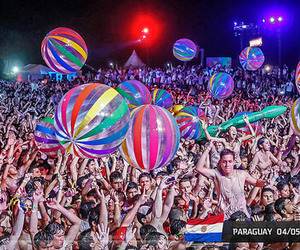 rave, paint party, and edm image