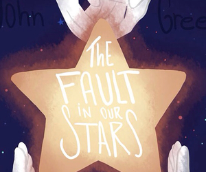 the fault in our stars, book, and john green image