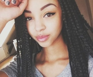 braids, beauty, and pretty image