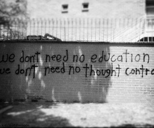 Pink Floyd, quote, and education image