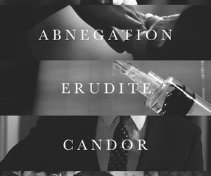divergent, candor, and abnegation image