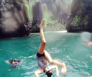 girl, summer, and thailand image