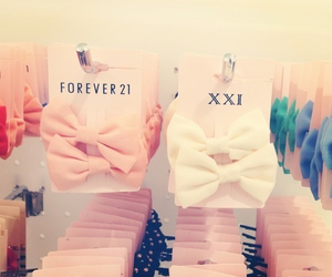 bow, forever 21, and shopping image