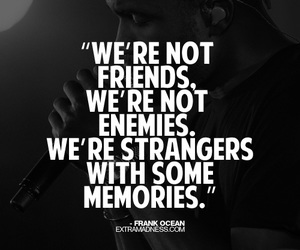 strangers, memories, and quote image