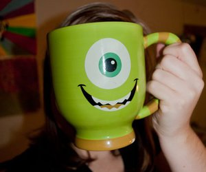 coffee, monsters inc, and photography image