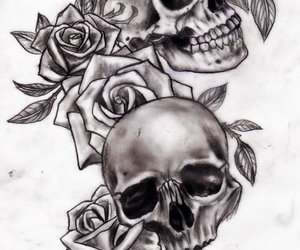 roses and tattoo image