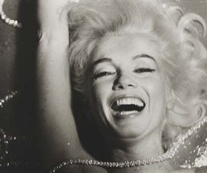 black and white, Marilyn Monroe, and beauty image