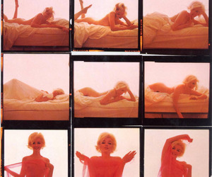 Marilyn Monroe, bed, and sexy image