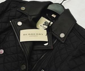 Burberry, fashion, and jacket image