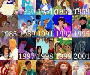 disney, princess, and movies image