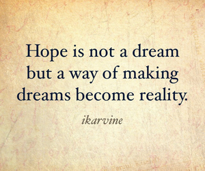 dreams and hope image