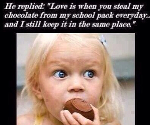 love, chocolate, and brothers image