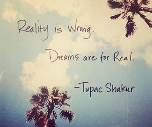 quote, Dream, and reality image