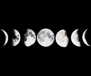 grunge, hipster, and moon image