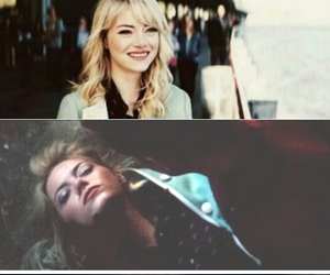 emma stone, peter parker, and gwen stacy image