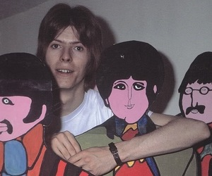 david bowie, beatles, and the beatles image
