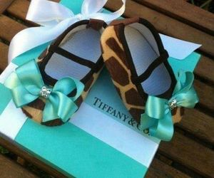 baby, shoes, and tiffany image