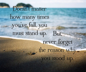 quote fall stand up image