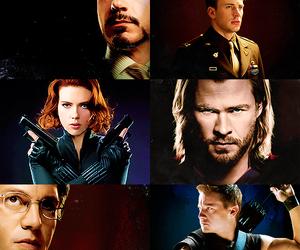 hawkeye, Hulk, and iron man image