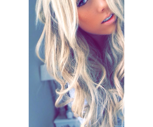 big hair, blonde, and curls image